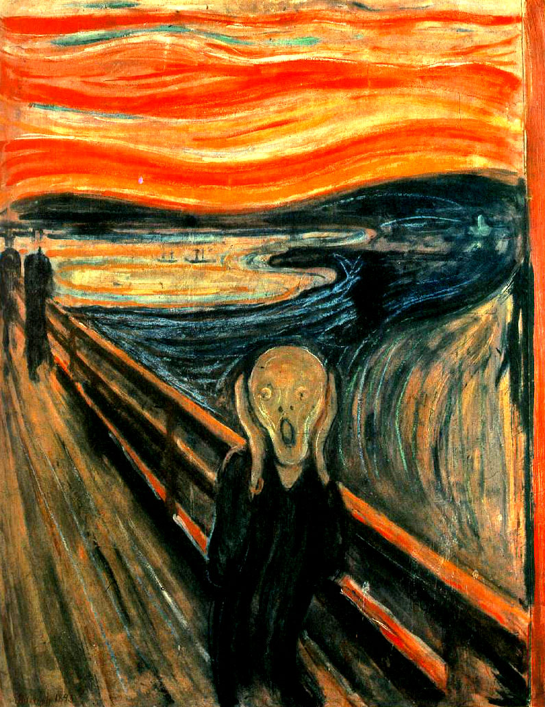1893 edvard munch the scream